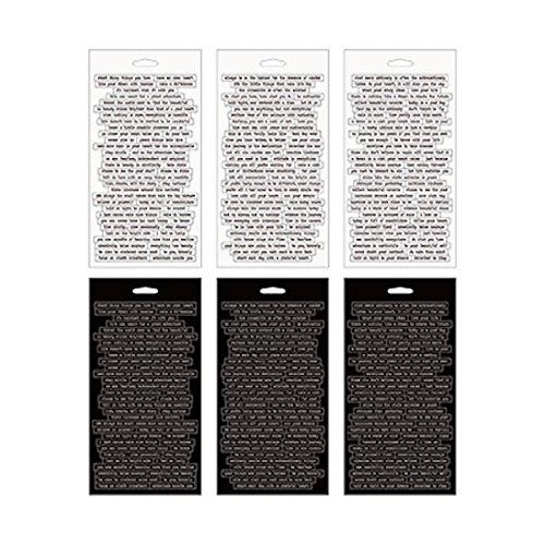 Advantus Idea-Ology–Espiral Libro de Pegatinas para (21,59x 21,59cm pequeño Conversación
