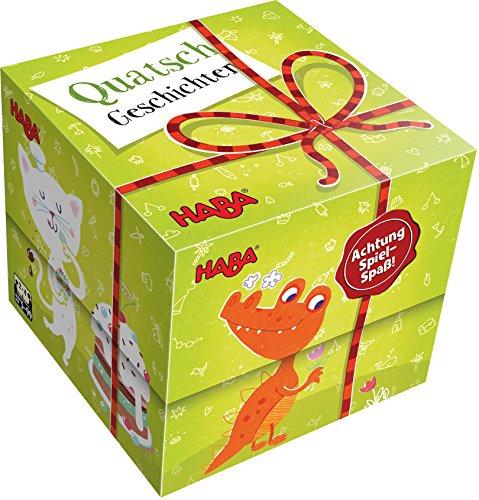 HABA 300606 Cadeau Jouet absurde Histoires Cube