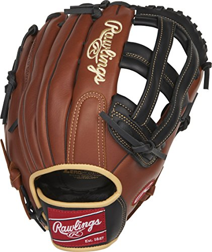 "Rawlings Sandlot Series Leather Pro H Web Baseball Glove, 12-3/4"", Regular, Right Hand Throw"
