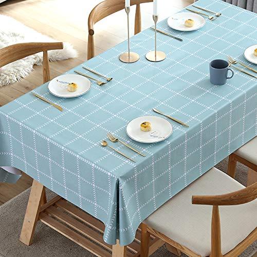 LIUJIU El mantel de vinilo El mantel de PVC puede limpiar picnic interior/exterior, barbacoas y cubiertas de mesa, 70 x 240 cm