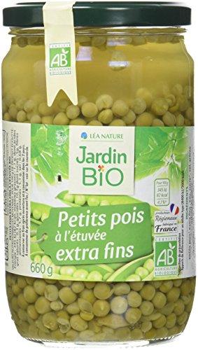 Jardin Bio Petits Pois extra fins - 660 g