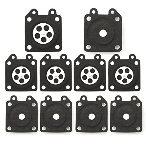 Price comparison product image Alamor 10pcs Carburetor Gaskets Metering Diaphragm Assembly For Walbro 95-526