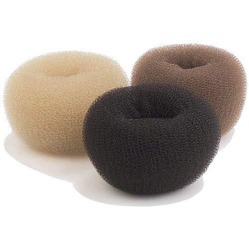 Efalock Boudin à chignon 10 cm foncé Extra haute, pack de 1 (1 x 1 pièce)