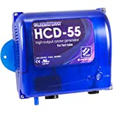 Clarathon HCD-55 Spa Ozonator Kit: Hi-Output Ozone Generator for Hot Tubs & Swim Spas - Universal: 120V / 240V