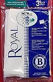 Royal Vacuum Cleaner Type B HEPA 3 Bags [Kitchen], White