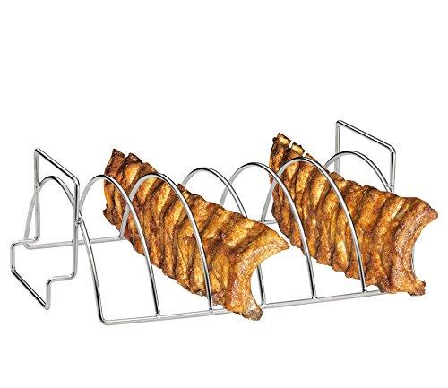 Küchenprofi BBQ-Spare-Ribs und Braten-Rack
