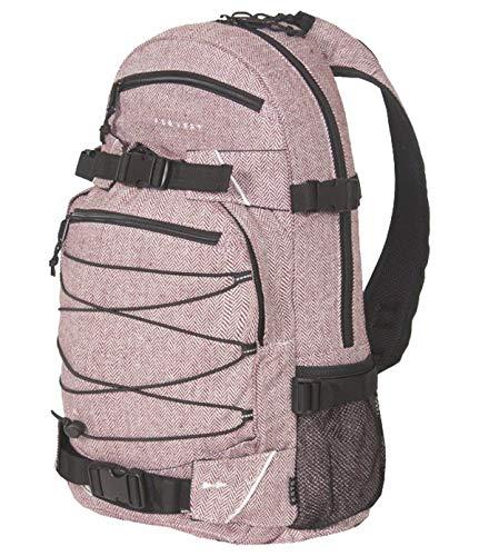 FORVERT Unisex Bag New Louis sportlich-lässiger Daypack mit durchdachter Ausstattung im spannendem Materialmix, rot (Flannel Burgundy)
