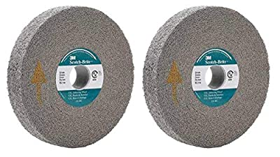 "3M Abrasive 048011-05132 6"" SCOTCH-BRITE EXL DEBURRING WHEELS GRAY"
