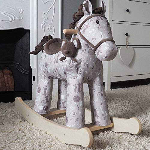Little Bird Told Me LB3096 Biscuit and Skip Rocking Horse 12M+
