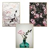 Martin Kench Poster Set, 3 Stück Wandbilder 3 Teilig