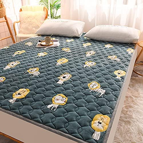 Cubrecolchón fino para todas las estaciones, para futón japonés Shiki futón de alta calidad, estampado fino, extra suave y acogedor Tatami