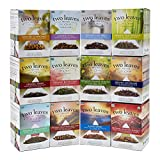 Two Leaves and a Bud Retail Box Starter Kit Sampler, Assortment of 2 Boxes Each of 12 Teas...