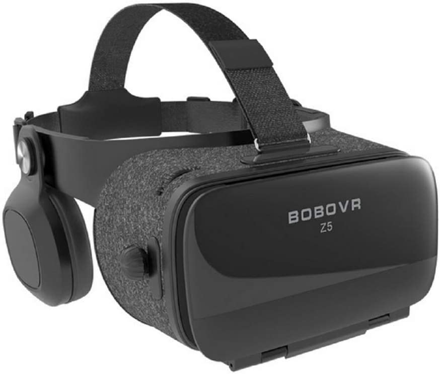 None New Global Version BOBOVR Z5 Virtual Reality Headset VR Box 3D Glasses Cardboard for Daydream Smartphones Full Package Gamepad (Color : Bundle 2)