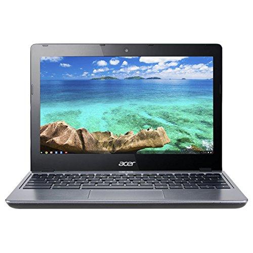Acer C720 11.6in Chromebook Intel Celeron 1.40GHz Dual Core Processor, 2GB RAM, 16GB W/Chrome OS (Renewed)