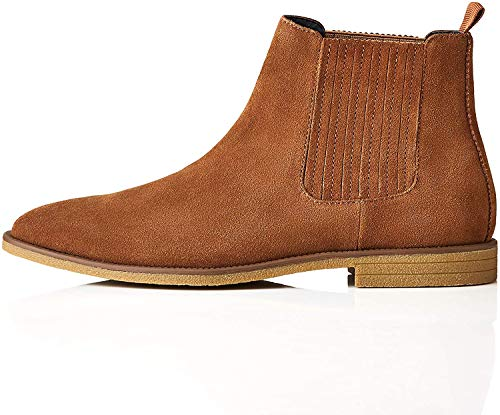 find. Herren Atwood_HS01 Chelsea Boots Stiefel, Braun (Tan), 45 EU