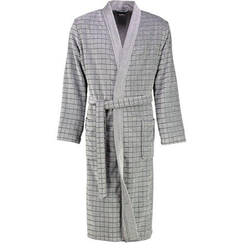 Cawö Home Bademantel Herren Kimono Karo 3828 77 S