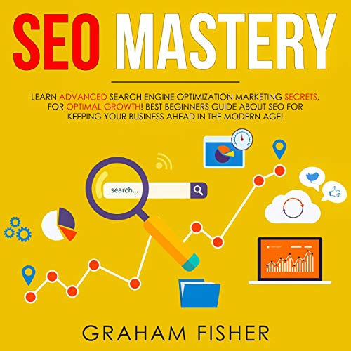 SEO Mastery audiobook cover art