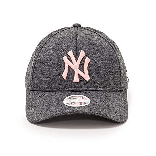 New Era New York Yankees 9forty Women Adjustable Cap Tech Jersey Grey - One-Size