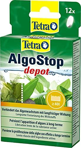 Tetra AlgoStop depot, Previene la proliferazione delle alghe con effetto a lungo termine - 12 compresse