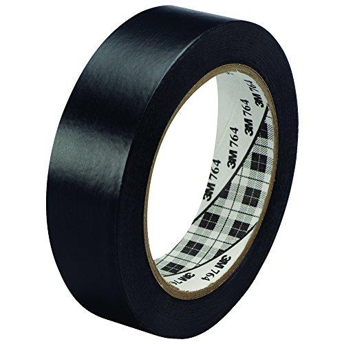 "Price comparison product image 3M 764 Vinyl Tape,  5.0 Mil,  1"" x 36 yds,  Black,  6 / Case,  3M Stock 7000123886"