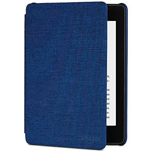 Funda Amazon de tela que protege del agua para Kindle Paperwhite (10.ª generación - modelo de 2018), Azul