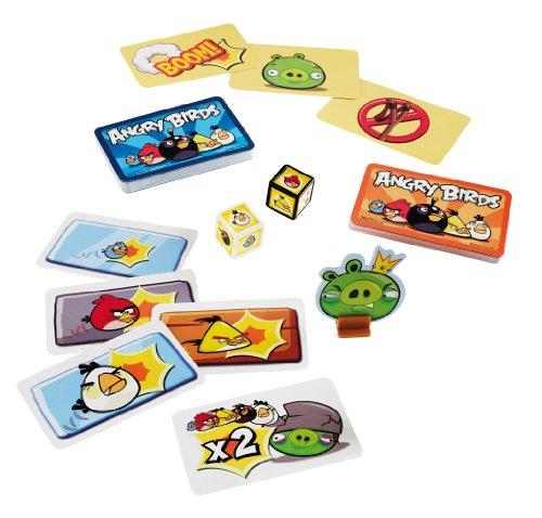 Mattel Juegos W3969 - Cartas Angry Birds
