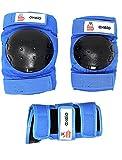 –Monopatín infantil Patines en línea patines en línea orejeras en 3tamaños S XS y XXS, color azul, tamaño extra-small