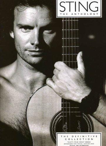 Sting Anthology Pvg (Album): Noten für Gesang, Klavier (Gitarre)