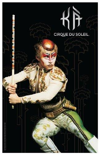 Cirque du Soleil - Ka c.2004 (twin brother) Movie Poster (27,94 x 43,18 cm)