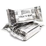 Emergency ration army survival food pack Outdoor Biscuits 125g NATO Army Prepper 4.4 oz pack MRE dried food crackers (5 pack x 4.4 oz)