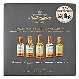 Anthon Berg - Licores de chocolate - 5 whiskies escocés de malta única premium - 10 botellas de 155g - Con un delicioso relleno líquido