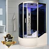 INSIGNIA Model INS8058 1500 x 900 Right Steam Shower Cabin