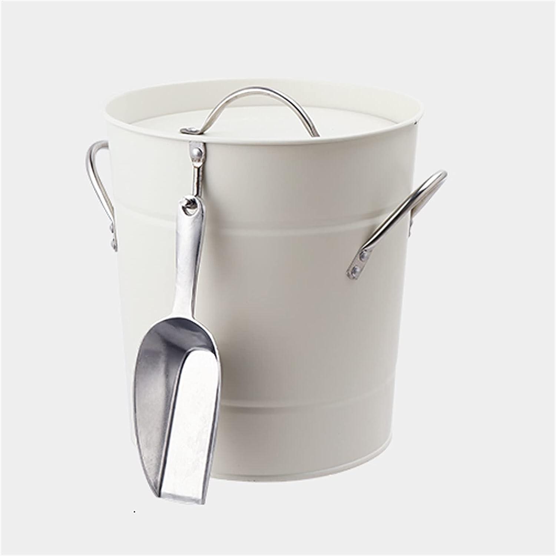 With Selling rankings Lid 5 ☆ very popular Ice Bucket Metal Handle Portable Wine Beer Bucke