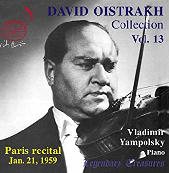 Oistrakh Collection, Vol. 13: Paris Recital, 1959 (Live)