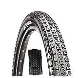 hengguang Neumáticos para Bicicleta De Montaña, 26/27.5/29 Pulgadas X 1.95/2.1/2.25 Neumático MTB Plegable/Desplegado, Neumáticos Sin Cámara De Rodadura Rápida Antideslizantes 27.5X1.95