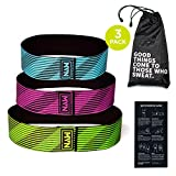 MVN Hip Bands - Exercise Resistance Bands for Legs and Butt Workouts, Non Slip Design
