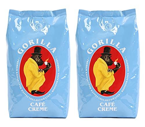 2x Gorilla Espresso 1.000g Café Creme
