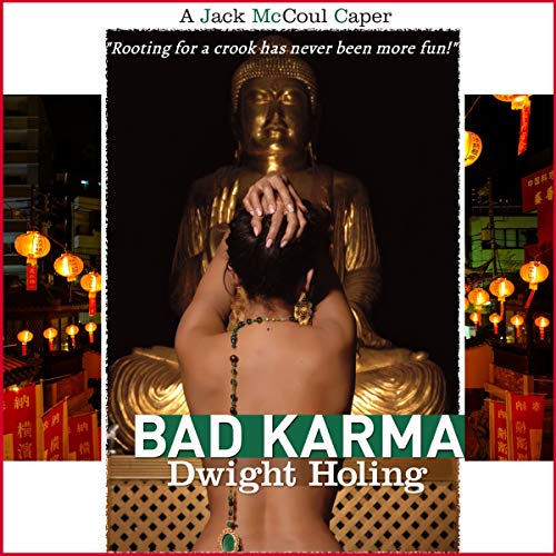 Bad Karma audiobook cover art
