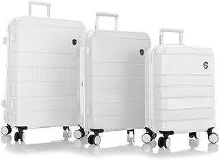 Heys America Neo 3-Piece Hardside Spinner Luggage Set (White)