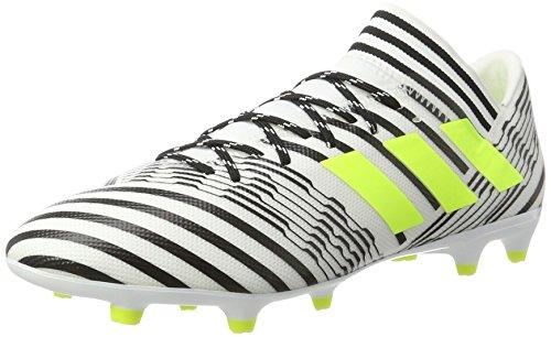 adidas Nemeziz 73 Fg, Scarpe da Calcio Uomo, Giallo (Footwear White/Solar Yellow/Core Black), 40 2/3 EU