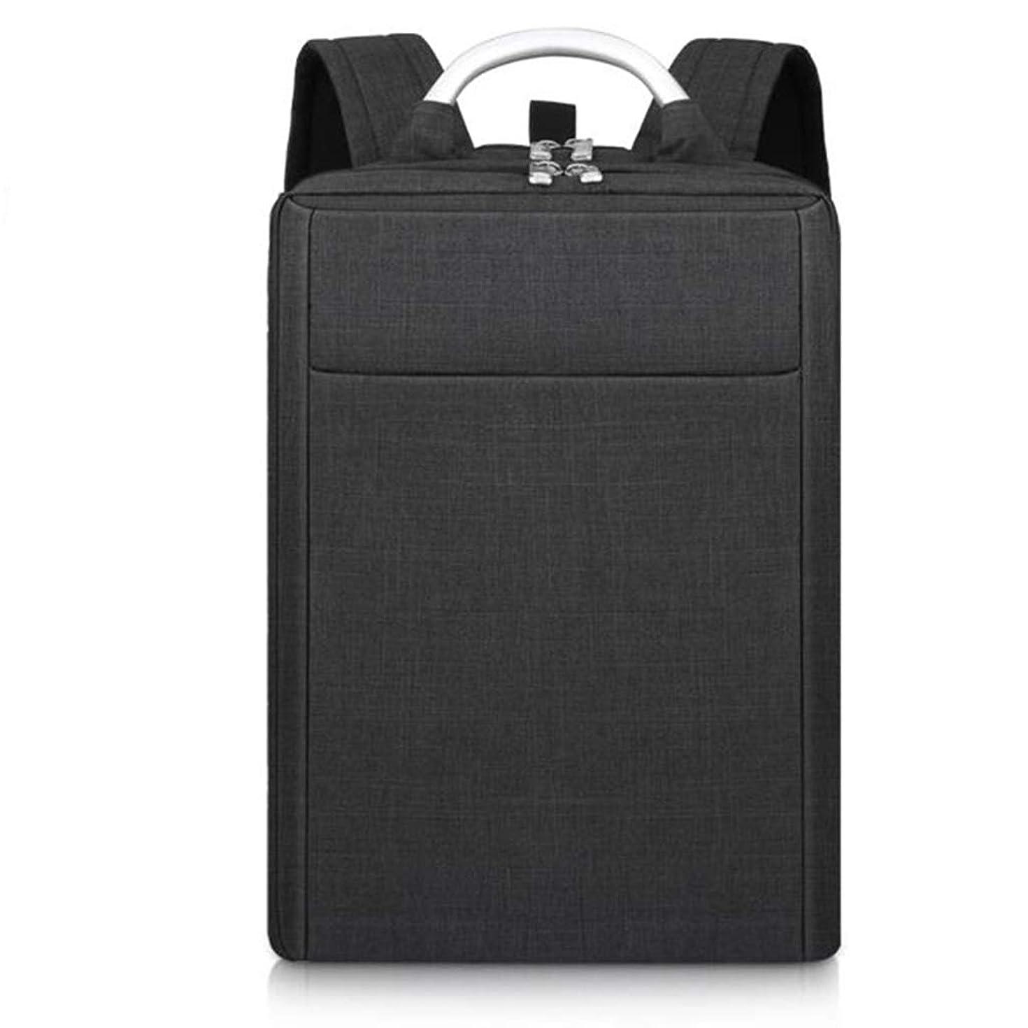 なめらかあなたのもの補助学生用バッグ、キャンパスバックパック、軽量、大容量、耐摩耗性防水、グレー LIUXIN