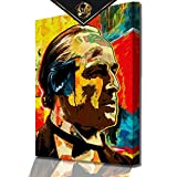 DotComCanvas® XXL Modernes Wandbild der Pate Don Vito