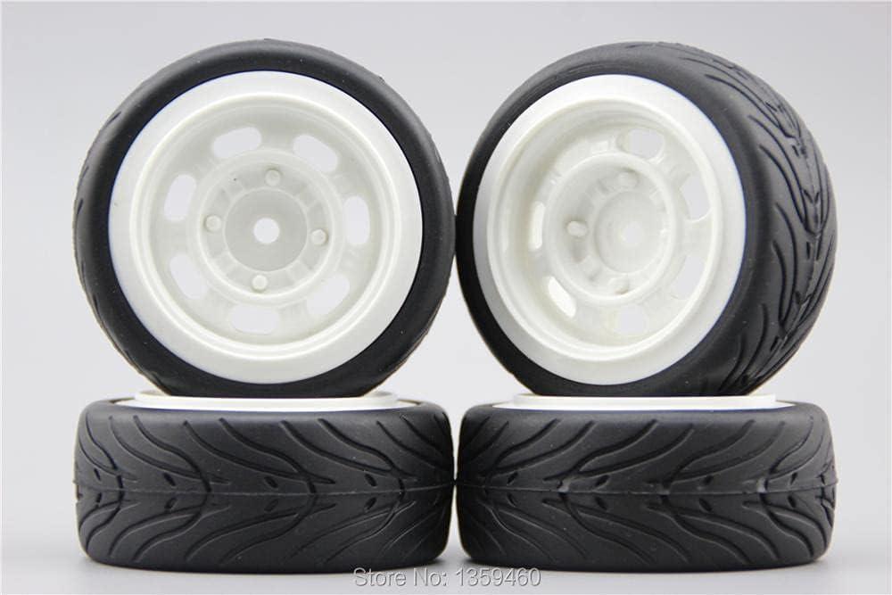 GzxLaY 4pcs 1 10 Soft Rubber Popular popular On Tire Wheel Car Save money Road Cla Tyre Rim