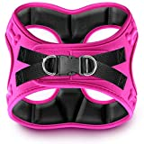 Metric USA Comfort fit Dog Harness Easy to Put-on Comfortable Soft Padded Adjustable Step in Dog Vest Harnesses for Small and Medium Dogs Under 30 lbs, Pink, XS, Chest 14-16'