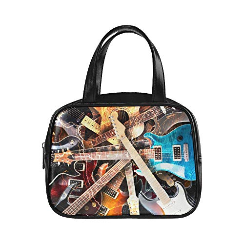 Bolsos de mano Jazz Rock Cool Guitarra eléctrica para niño Bolsos Bolso...