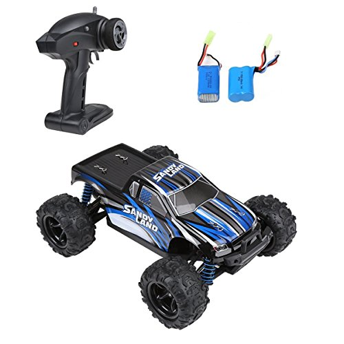 DTN 2.4Ghz 4WD Electric RC Car Offroad Remote...