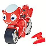 TOMY Ricky Zoom Toy Motorcycle – 3-inch Action Figure – Free-Wheeling, Free Standing Toy Bike for Preschool Play