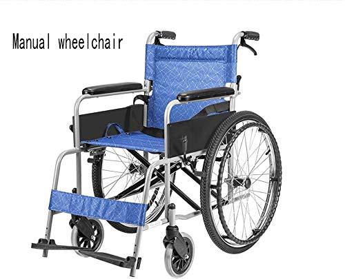 DBXOKK-Rollstuhl Kompakter Elektrorollstuhl mit Mittelantrieb, Lite Cruiser Deluxe - Mobilitätshilfe Intelligente elektronische Bremse Kann im Flugzeug Sein, in die U-Bahn gehen, manueller Rollstuhl
