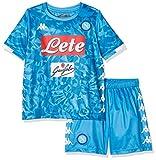 SSC Napoli Kit Bambino, Camiseta de manga corta Mertens Replica, Niño, Azul, 14