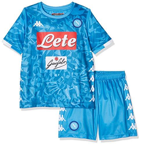 SSC Napoli, Junior Home Match, Insigne, Kit 2018/2019, Kinder, Blau, 12